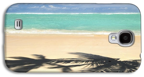 Beach Landscape Galaxy S4 Cases - Tropical beach Galaxy S4 Case by Elena Elisseeva