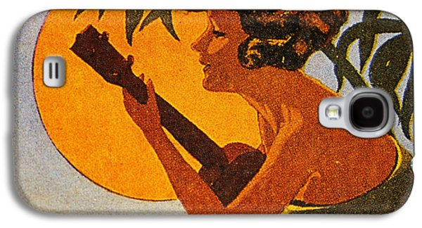 Recently Sold -  - Girl Galaxy S4 Cases - Vintage Hawaiian Art Galaxy S4 Case by Hawaiian Legacy Archive - Printscapes