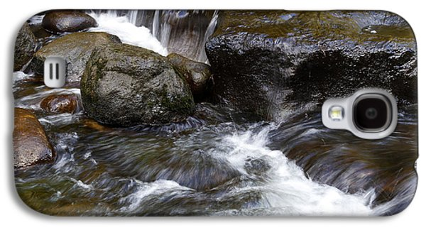 Beautiful Creek Galaxy S4 Cases - Water flowing Galaxy S4 Case by Les Cunliffe