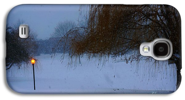 Half Dome Paintings Galaxy S4 Cases - Winter Landscape  Galaxy S4 Case by Adam Asar