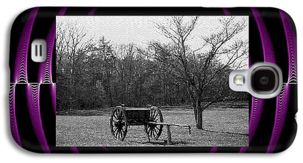 Horse And Cart Digital Galaxy S4 Cases - Digital Artistry Galaxy S4 Case by Stephen Proper Gredler