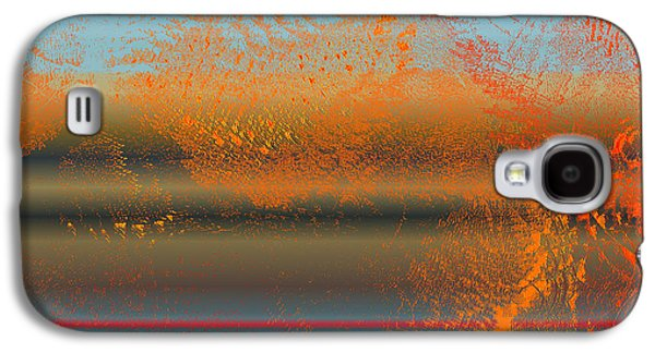 Abstract Digital Drawings Galaxy S4 Cases - 6004f1 Galaxy S4 Case by Mickey Harris