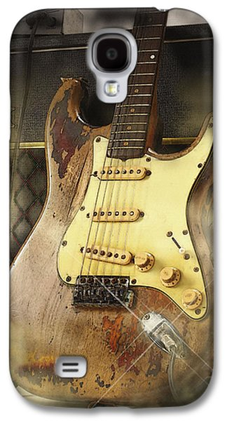 Beatles Galaxy S4 Cases - 61 Fender Stratocaster Galaxy S4 Case by Don Kuing