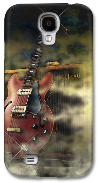 Beatles Galaxy S4 Cases - 68 Gibson ES-335 Galaxy S4 Case by Don Kuing