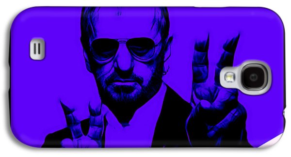 Ringo Starr Galaxy S4 Cases - Ringo Starr Collection Galaxy S4 Case by Marvin Blaine