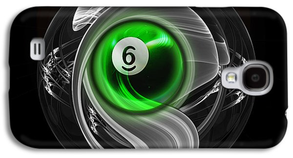 Mixed Media Galaxy S4 Cases - 6Fractuled Galaxy S4 Case by Draw Shots