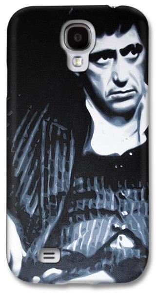 Scarface Galaxy S4 Cases - - Scarface - Galaxy S4 Case by Luis Ludzska