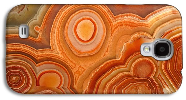 Designs In Nature Galaxy S4 Cases - Agate Galaxy S4 Case by Ted Kinsman