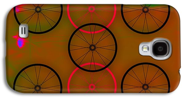 Race Galaxy S4 Cases - Bicycle Wheel Collection Galaxy S4 Case by Marvin Blaine