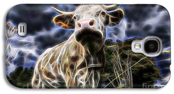 Cow  Galaxy S4 Case by Marvin Blaine