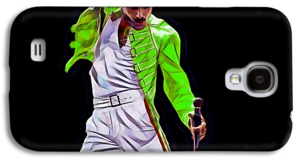 Queen Galaxy S4 Cases - Freddie Mercury Queen Collection Galaxy S4 Case by Marvin Blaine