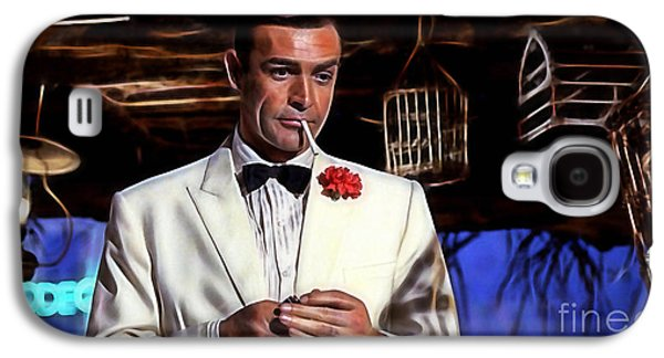 James Bond Collection Galaxy S4 Case by Marvin Blaine
