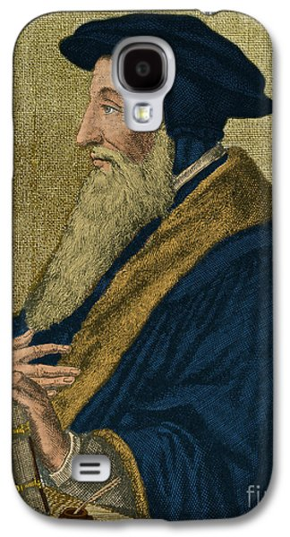 Personalities Photographs Galaxy S4 Cases - John Calvin, French Theologian Galaxy S4 Case by Photo Researchers
