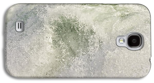 Maine Shore Galaxy S4 Cases - Large Waves Near Pemaquid Point On The Coast Of Maine Galaxy S4 Case by Keith Webber Jr
