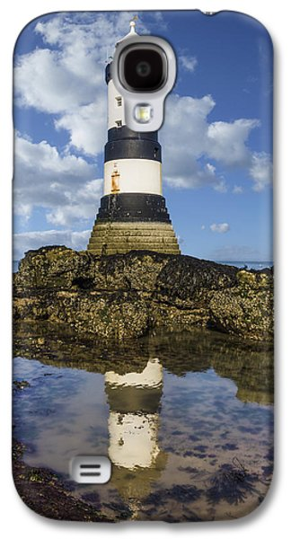 Light Galaxy S4 Cases - Penmon Lighthouse Galaxy S4 Case by Ian Mitchell