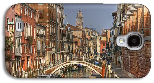 Peaceful Scene Galaxy S4 Cases - Venice - Italy Galaxy S4 Case by Joana Kruse