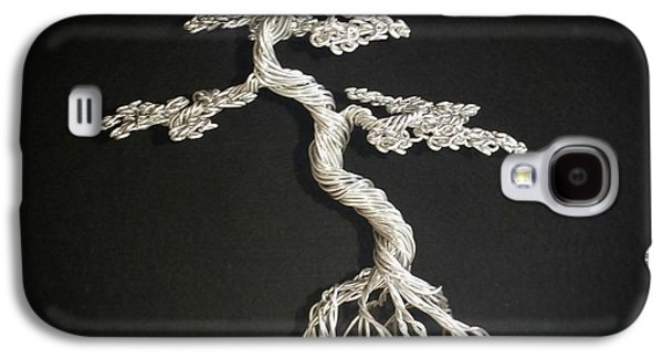 Etc. Sculptures Galaxy S4 Cases - #78 Mig wire tree sculpture Galaxy S4 Case by Ricks  Tree Art