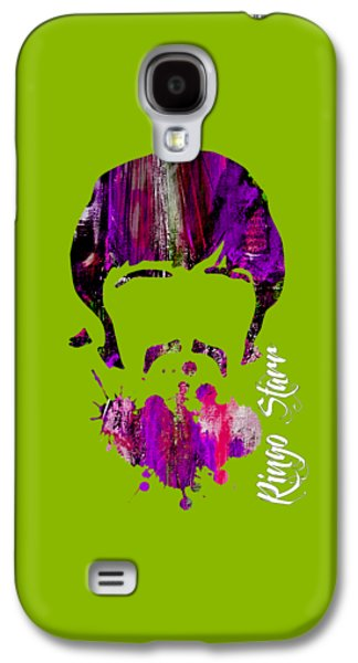 Recently Sold -  - Beatles Galaxy S4 Cases - Ringo Starr Collection Galaxy S4 Case by Marvin Blaine