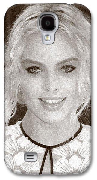 Actress Margot Robbie Galaxy S4 Case by Best Actors