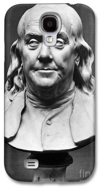 Statue Portrait Galaxy S4 Cases - Benjamin Franklin (1706-1790) Galaxy S4 Case by Granger