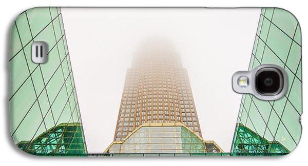 Charlotte North Carolina City Skyline Galaxy S4 Case by Alexandr Grichenko