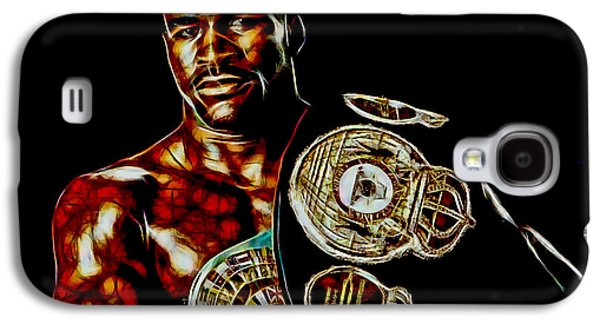 Boxer Galaxy S4 Cases - Evander Holyfield Collection Galaxy S4 Case by Marvin Blaine