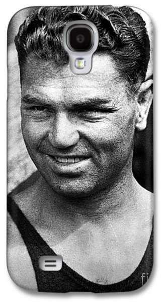 Boxer Galaxy S4 Cases - Jack Dempsey (1895-1983) Galaxy S4 Case by Granger