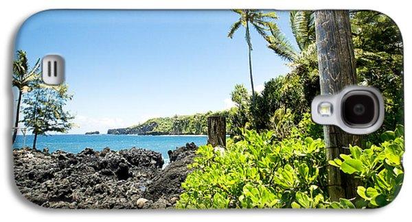 My Ocean Galaxy S4 Cases - Keanae Maui Hawaii Galaxy S4 Case by Sharon Mau