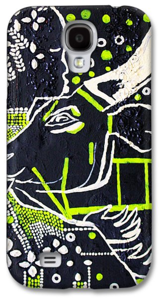 Girl Galaxy S4 Cases - Nuer Bride - South Sudan Galaxy S4 Case by Gloria Ssali