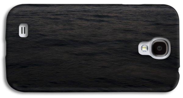 Sunset Abstract Galaxy S4 Cases - Ocean Galaxy S4 Case by Yaniv Eitan