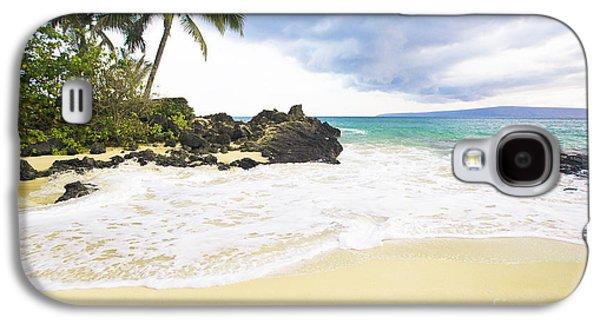 My Ocean Galaxy S4 Cases - Paako Beach Makena Maui Hawaii Galaxy S4 Case by Sharon Mau