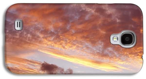 Abstract Nature Galaxy S4 Cases - Summer sky Galaxy S4 Case by Les Cunliffe