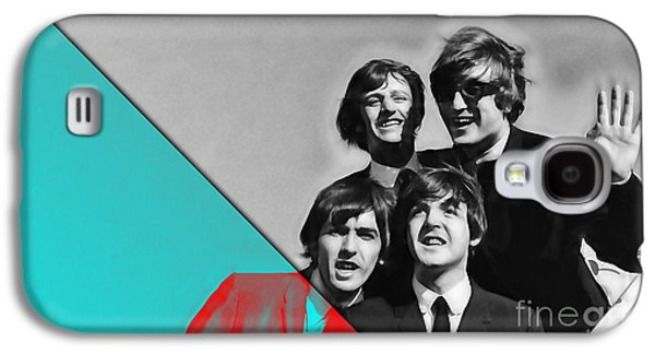 The Beatles Collection Galaxy S4 Case by Marvin Blaine