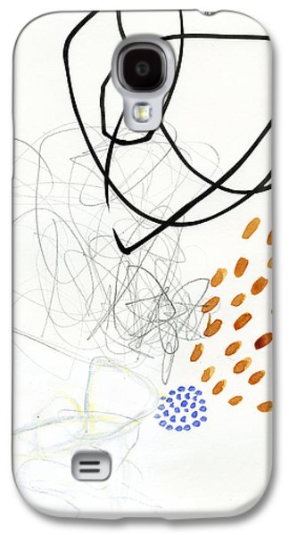 Drawing Paintings Galaxy S4 Cases - 85/100 Galaxy S4 Case by Jane Davies