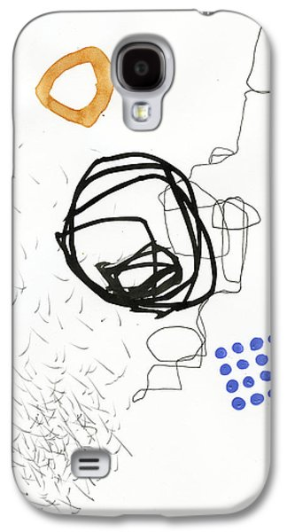 Drawing Paintings Galaxy S4 Cases - 86/100 Galaxy S4 Case by Jane Davies