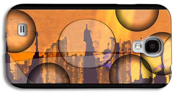 Abstract Digital Drawings Galaxy S4 Cases - 8659f2 Galaxy S4 Case by Mickey Harris