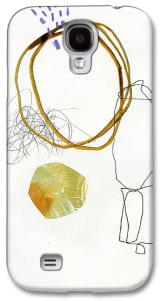 Drawing Paintings Galaxy S4 Cases - 87/100 Galaxy S4 Case by Jane Davies