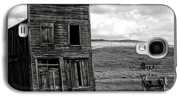 Landmarks Photographs Galaxy S4 Cases - Bodie California Galaxy S4 Case by Nick  Boren