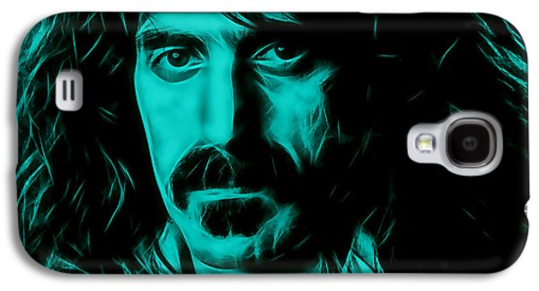 Musicians Galaxy S4 Cases - Frank Zappa Collection Galaxy S4 Case by Marvin Blaine