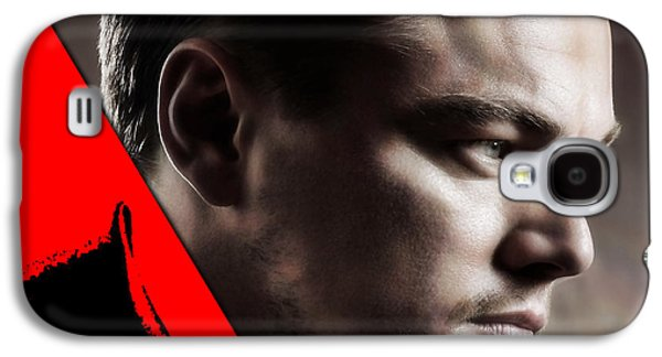Leonardo Dicaprio Collection Galaxy S4 Case by Marvin Blaine