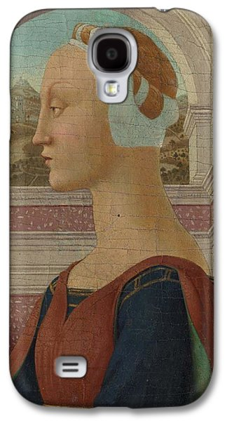 Portrait Of A Woman Galaxy S4 Case by MotionAge Designs