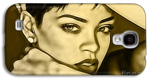 Rihanna Collection Galaxy S4 Case by Marvin Blaine