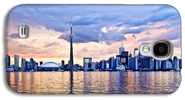 Toronto Skyline Galaxy S4 Case by Elena Elisseeva