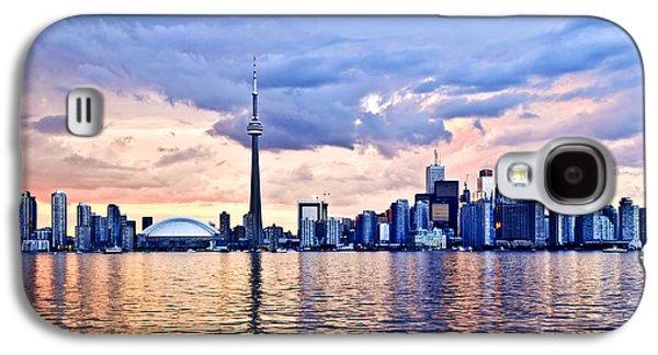 Business Galaxy S4 Cases - Toronto skyline Galaxy S4 Case by Elena Elisseeva