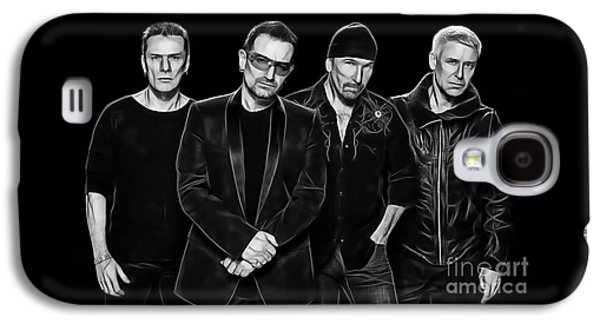U2 Collection Galaxy S4 Case by Marvin Blaine