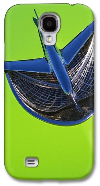 Hood Ornament Photographs Galaxy S4 Cases - A Bird....A Plane Galaxy S4 Case by Rebecca Cozart