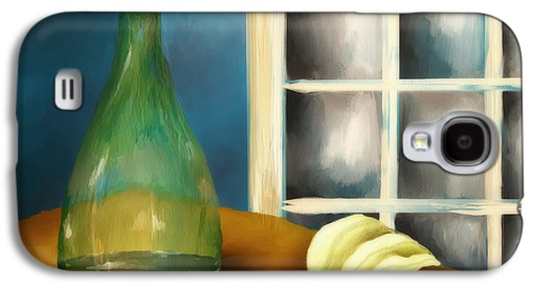 A Bottle And A Towel Galaxy S4 Case by Brenda Bryant