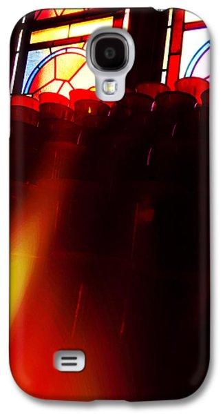 Spiritualism Galaxy S4 Cases - A Prayer for Nonna - Prayer Candle - Spiritualism Galaxy S4 Case by Joann Vitali