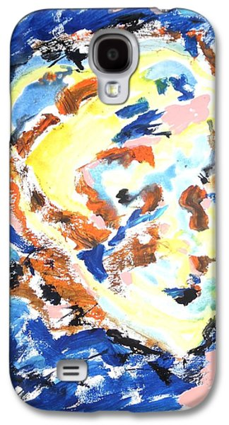 Psychiatry Paintings Galaxy S4 Cases - A Certain Inwardness Galaxy S4 Case by Esther Newman-Cohen