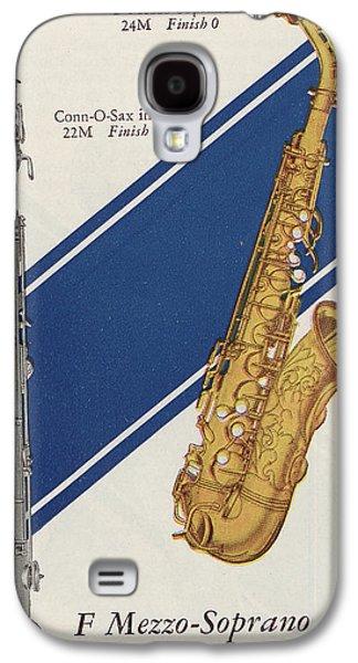 Soprano Galaxy S4 Cases - A Charles Gerard Conn F Mezzo-Soprano Galaxy S4 Case by American School
